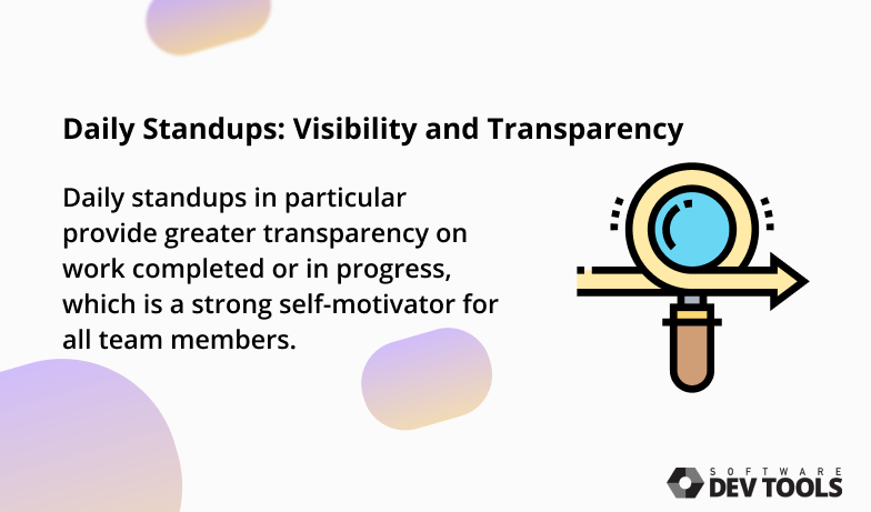 daily stand-ups transparency